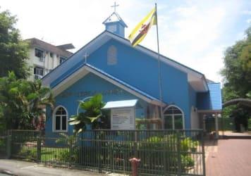 Brunei church image