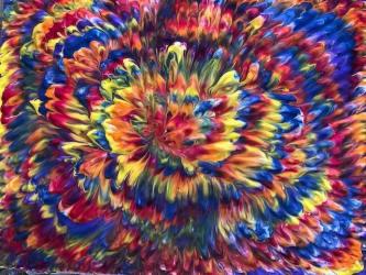 rainbow painting image