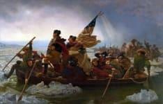 Washington crossing river
