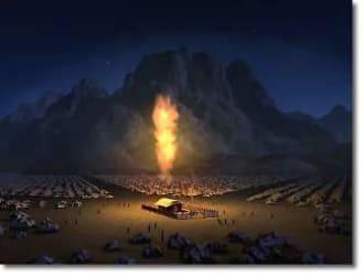 illutration of desert tabernacle