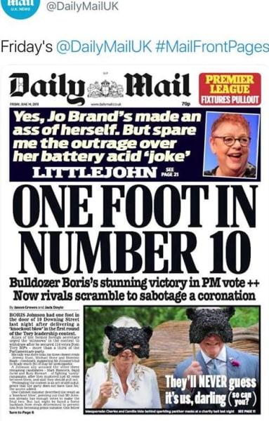 UK Daily Mail