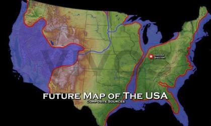 US Navy Map New Madrid Earthquake