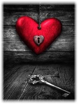 Upsplash heart key image