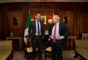 photo of boris and leo meeting