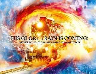Glory Train Painting by Esther Eunjoo Jun