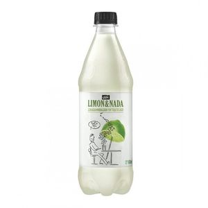 agua con gas, del valle, botella 600 ml. limon & nada