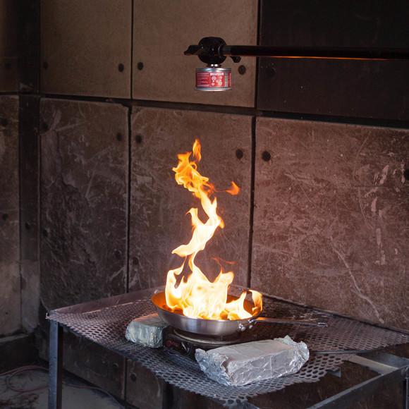 Grid Hood Fire Extinguisher