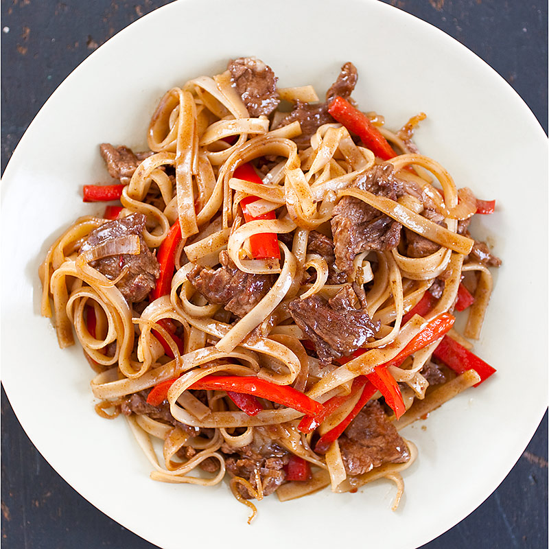Stir Fried Beef And Rice Noodles Cook S Country