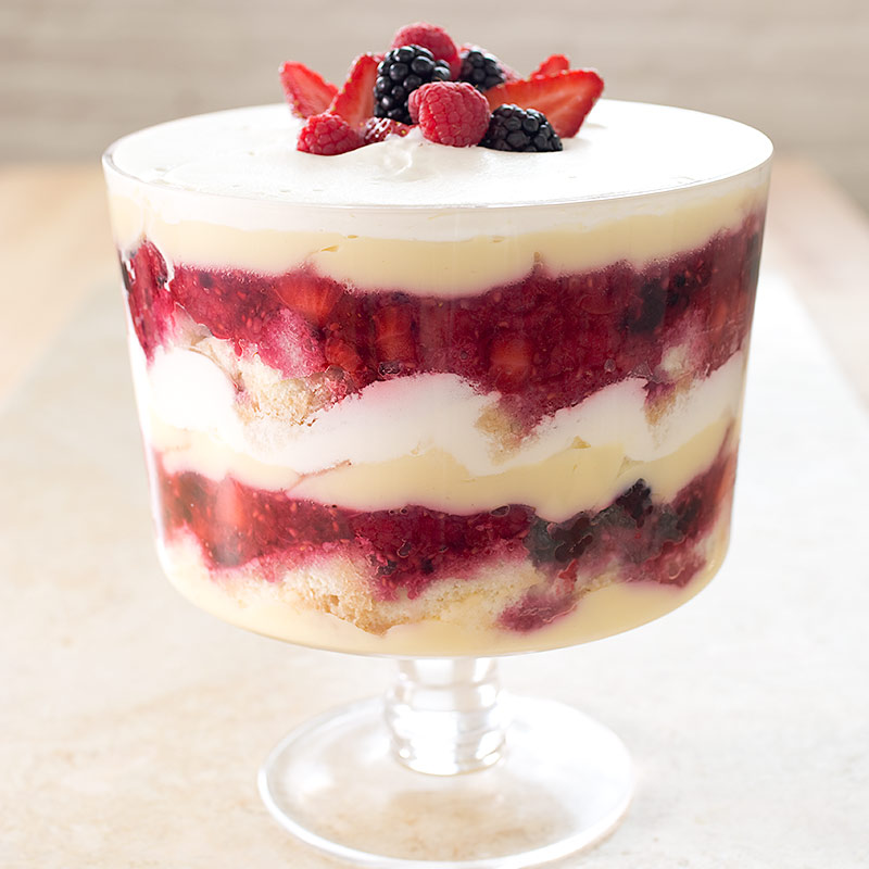 Summer Berry Trifle Cook S Illustrated
