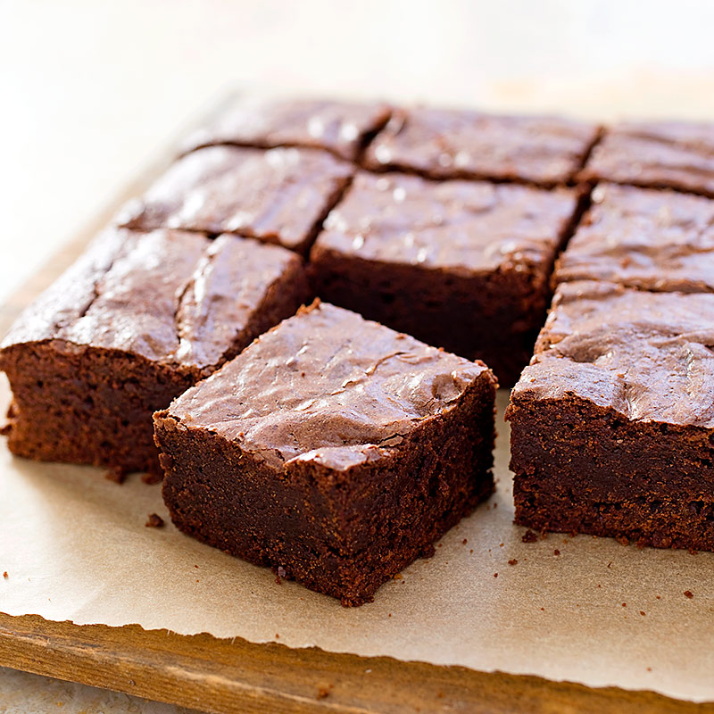Chewy Fudgy Triple Chocolate Brownies America S Test Kitchen