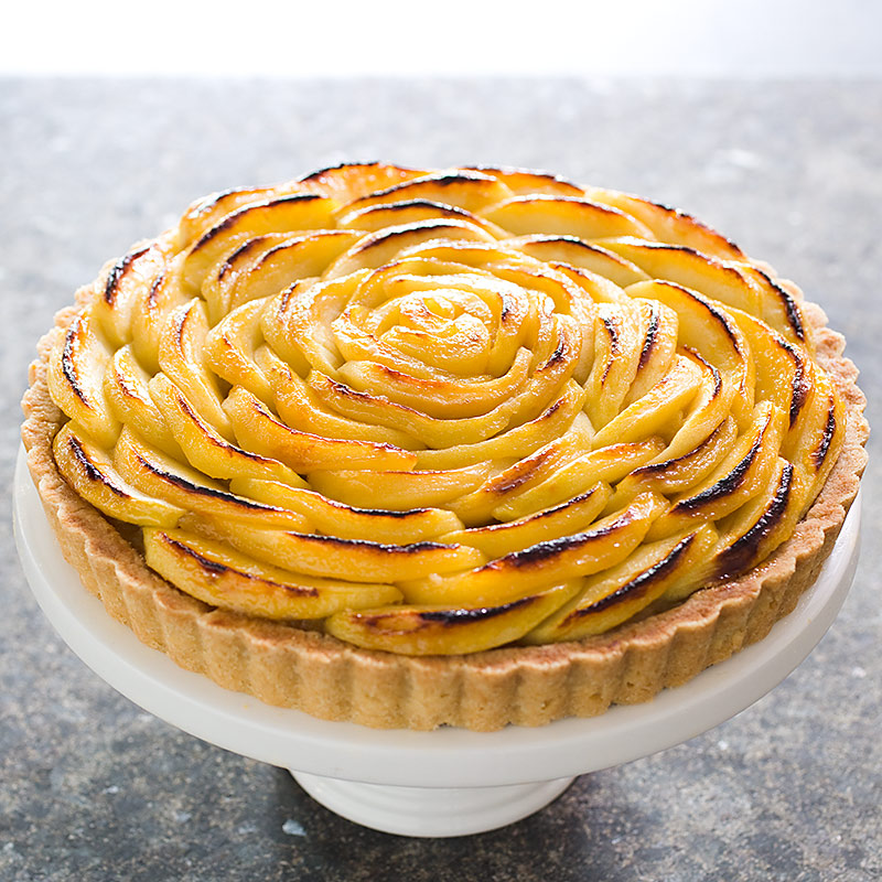 French Apple Tart Cook S Illustrated