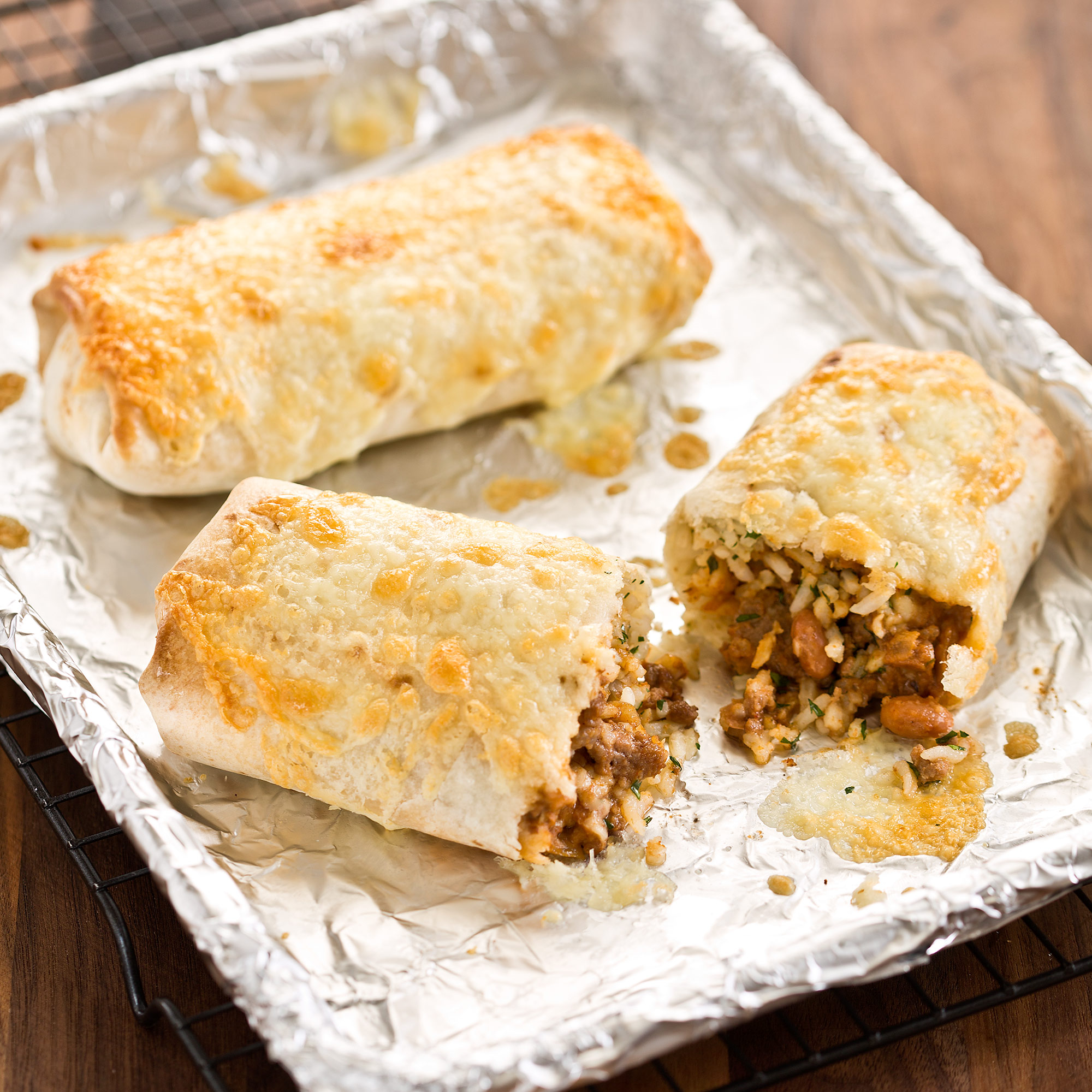 Beef And Bean Burritos Cook S Country