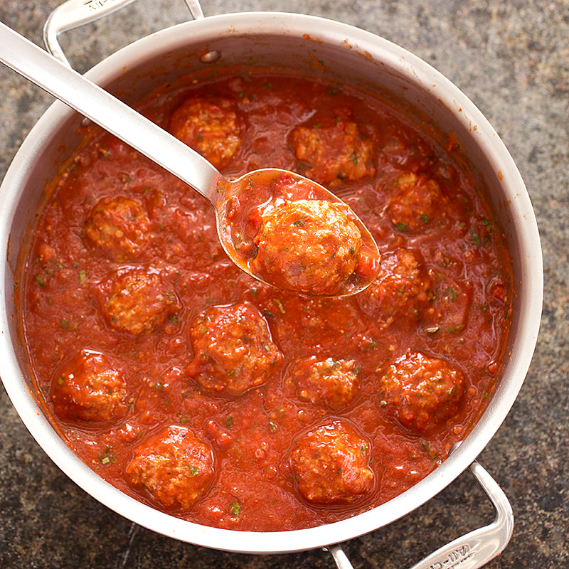 Meatballs and Marinara | Cook's Country