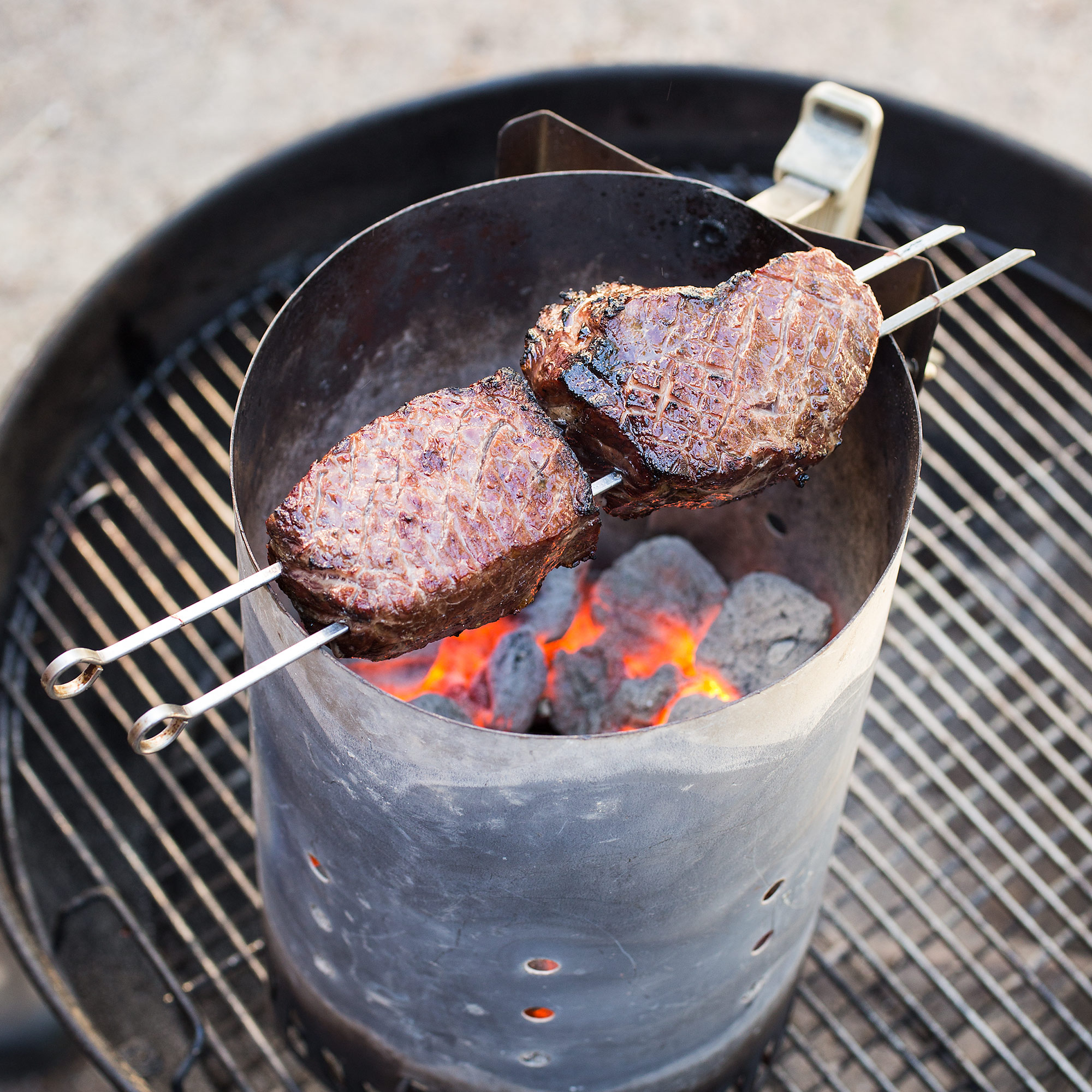 Ultimate Charcoal Grilled Steaks Cook S Illustrated