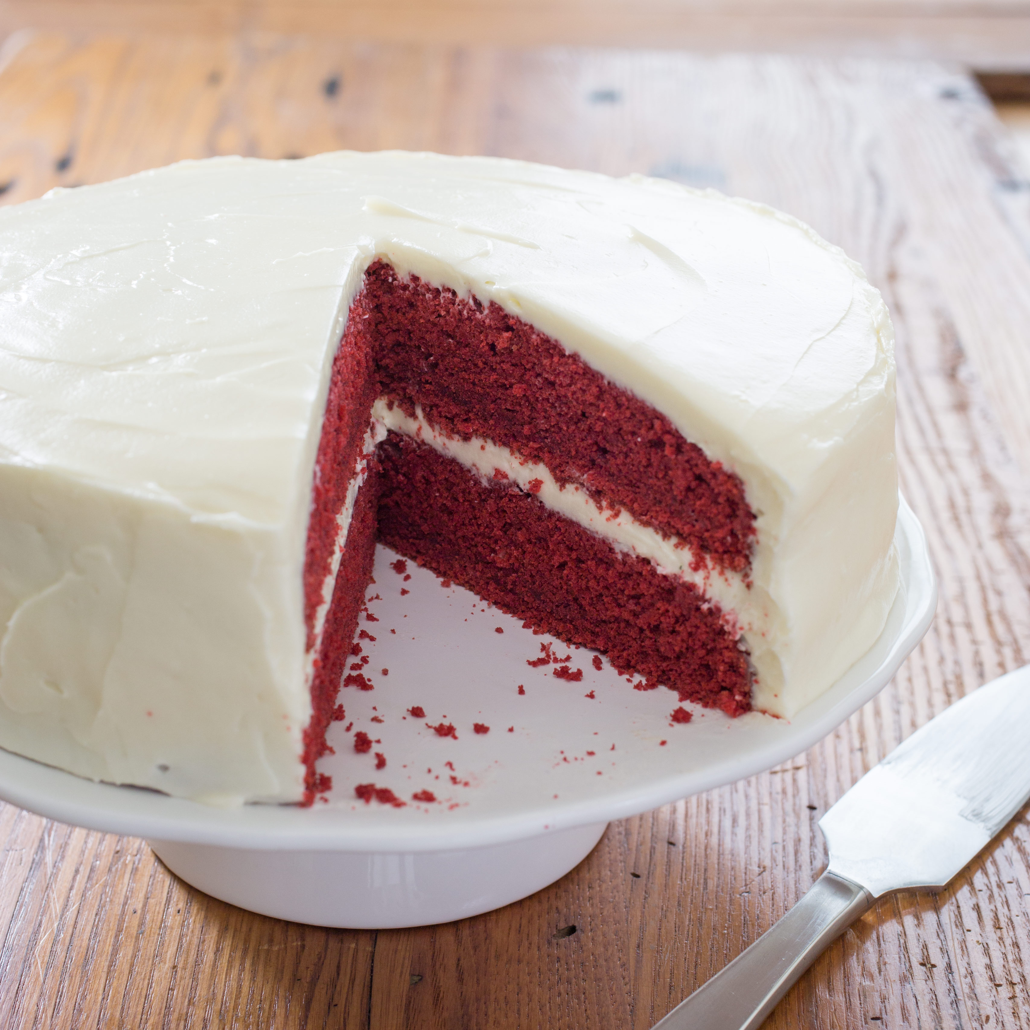 Red Velvet Cake With Cream Cheese Frosting Cook S Country