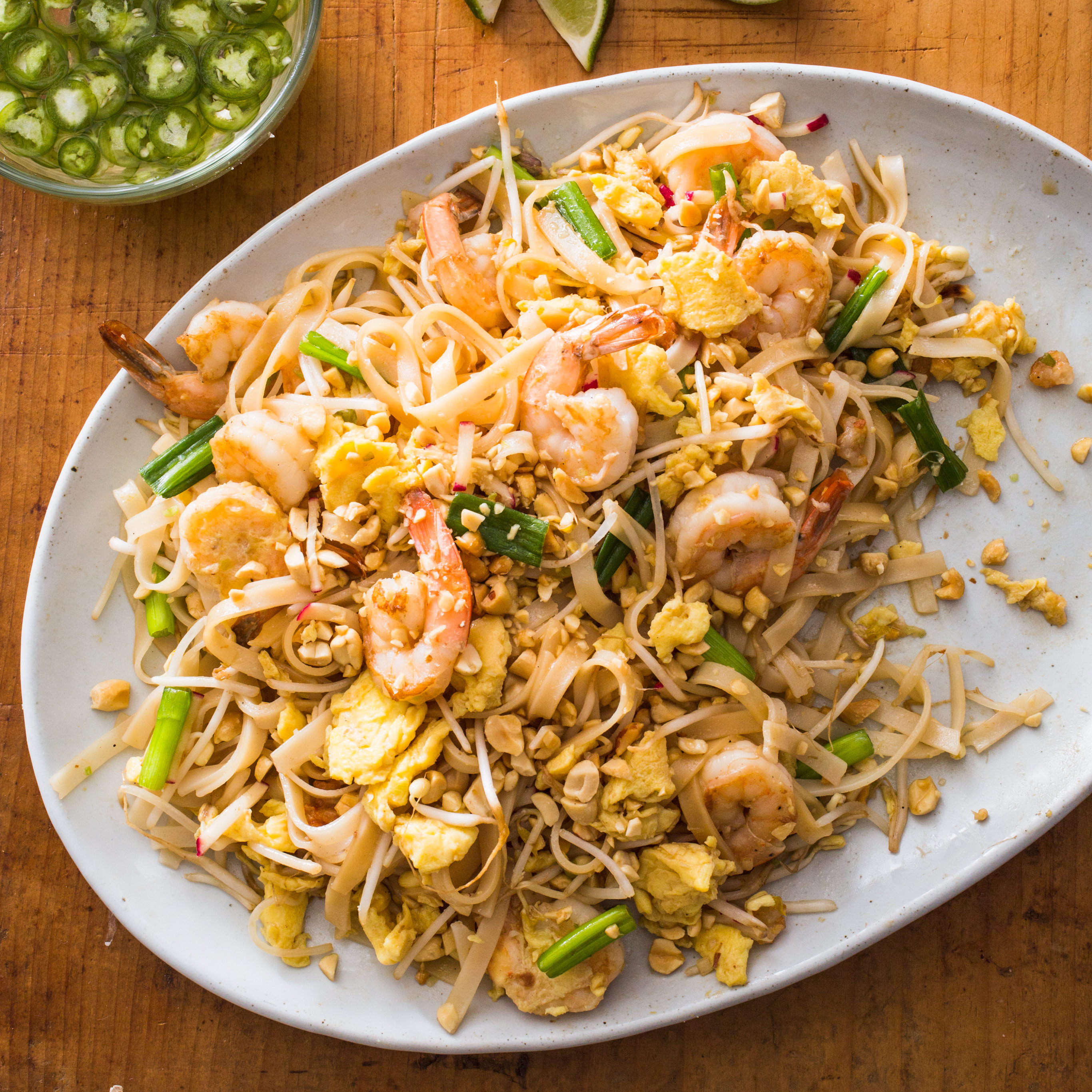 Shrimp Pad Thai Cook S Illustrated