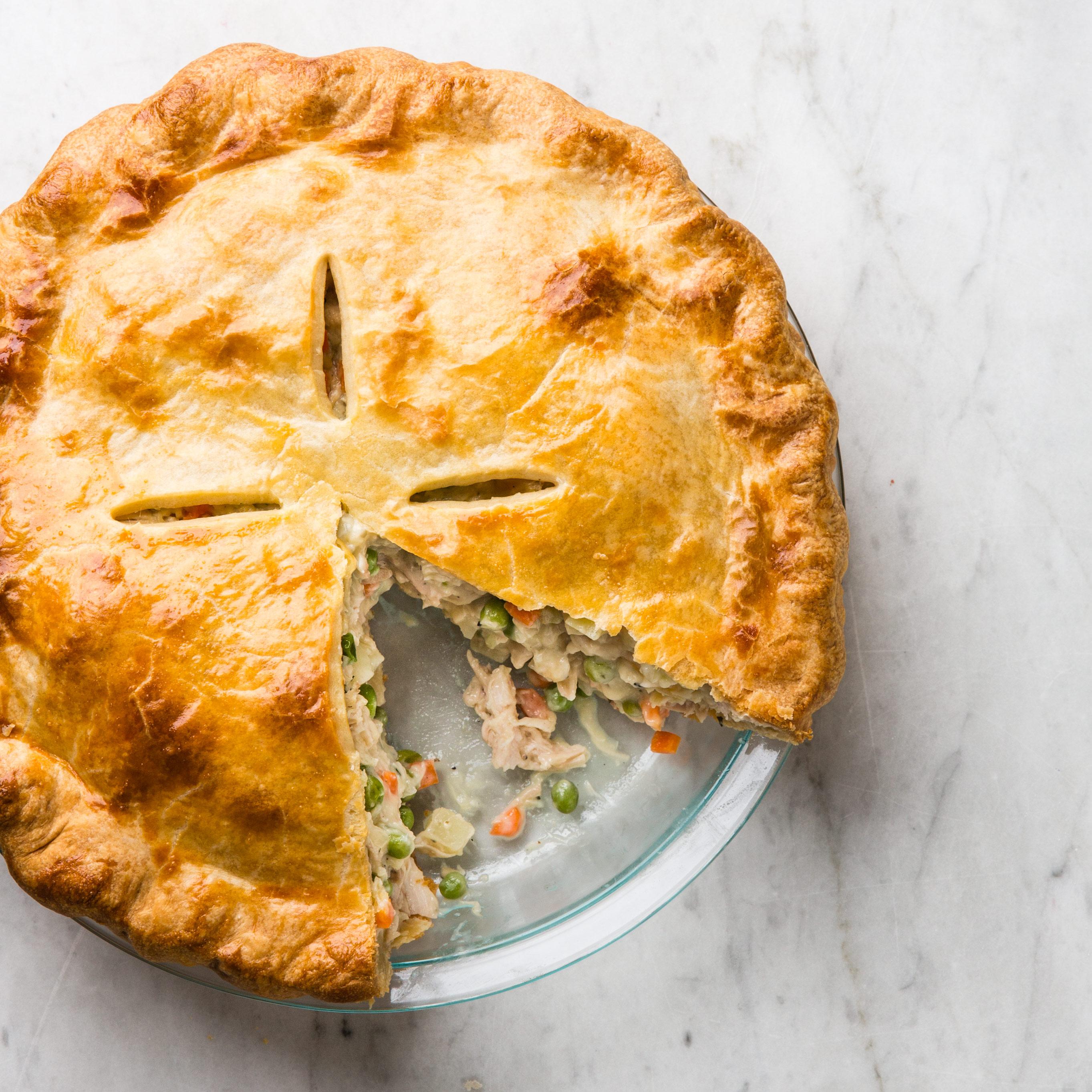 Easy Chicken Pot Pie Crust Recipe