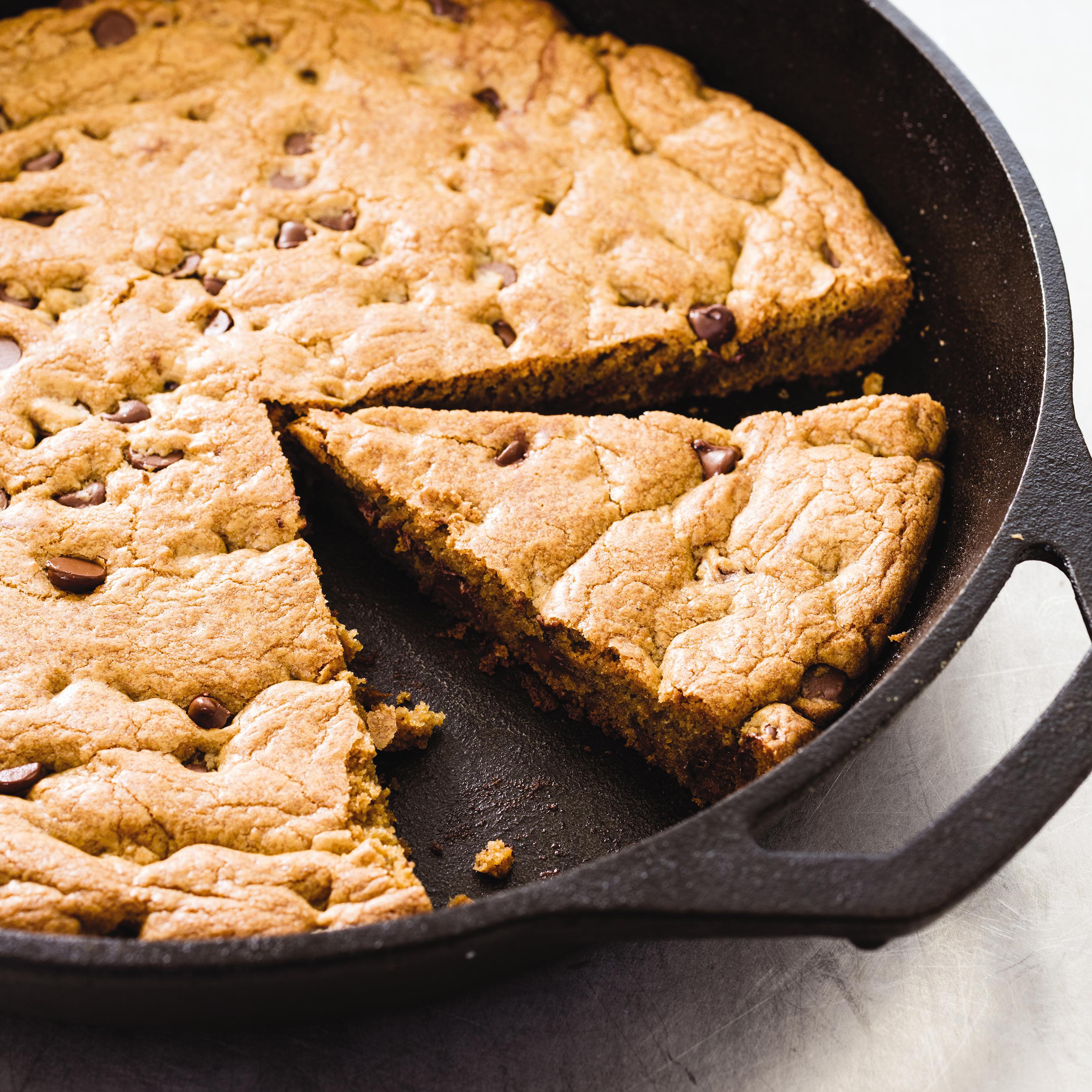 Cast Iron Skillet Chocolate Chip Cookie America S Test Kitchen