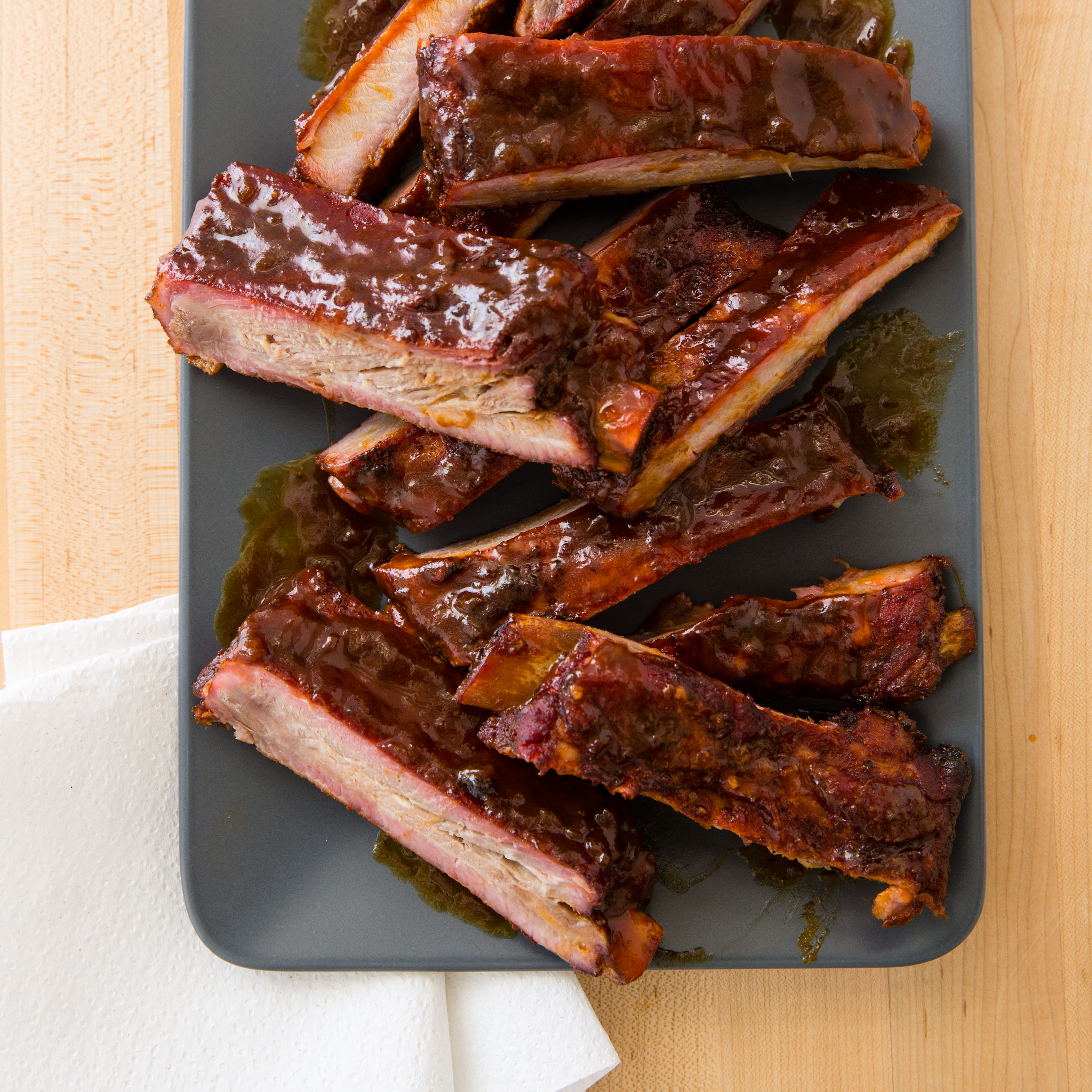 Sticky Ribs On A Charcoal Grill Cook S Country