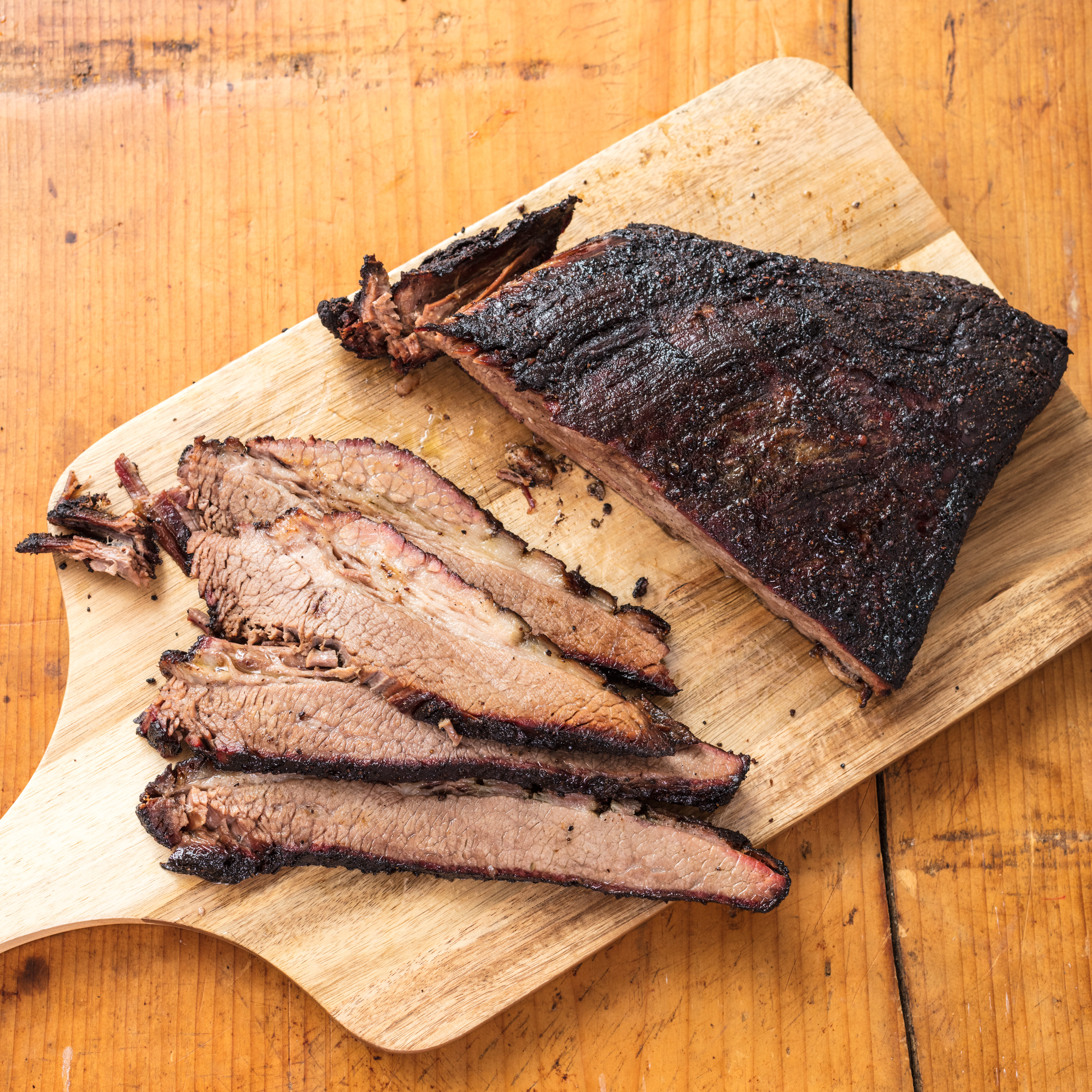 Barbecued Beef Brisket On The Charcoal Grill Cook S Illustrated