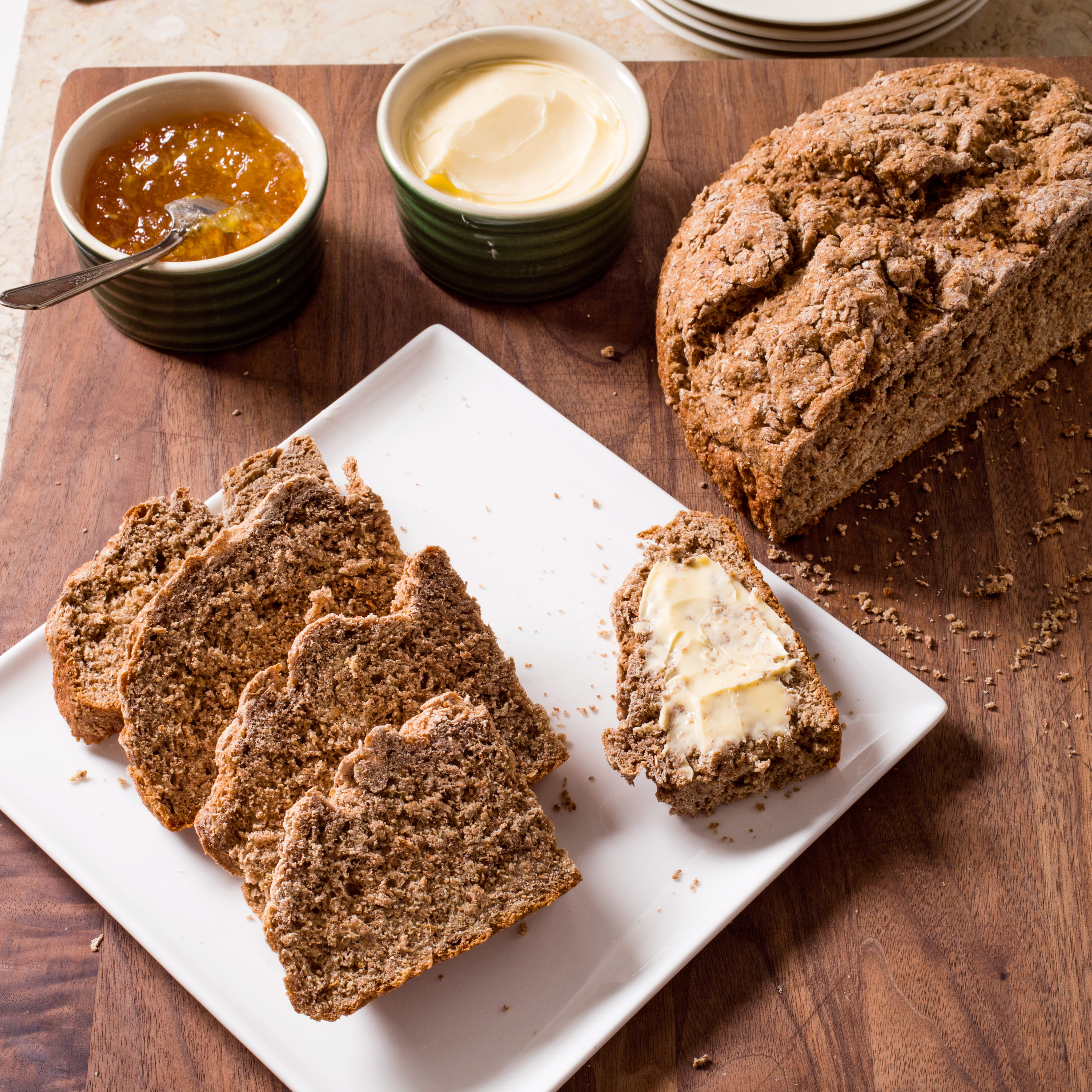 Irish Brown Soda Bread Cook S Illustrated
