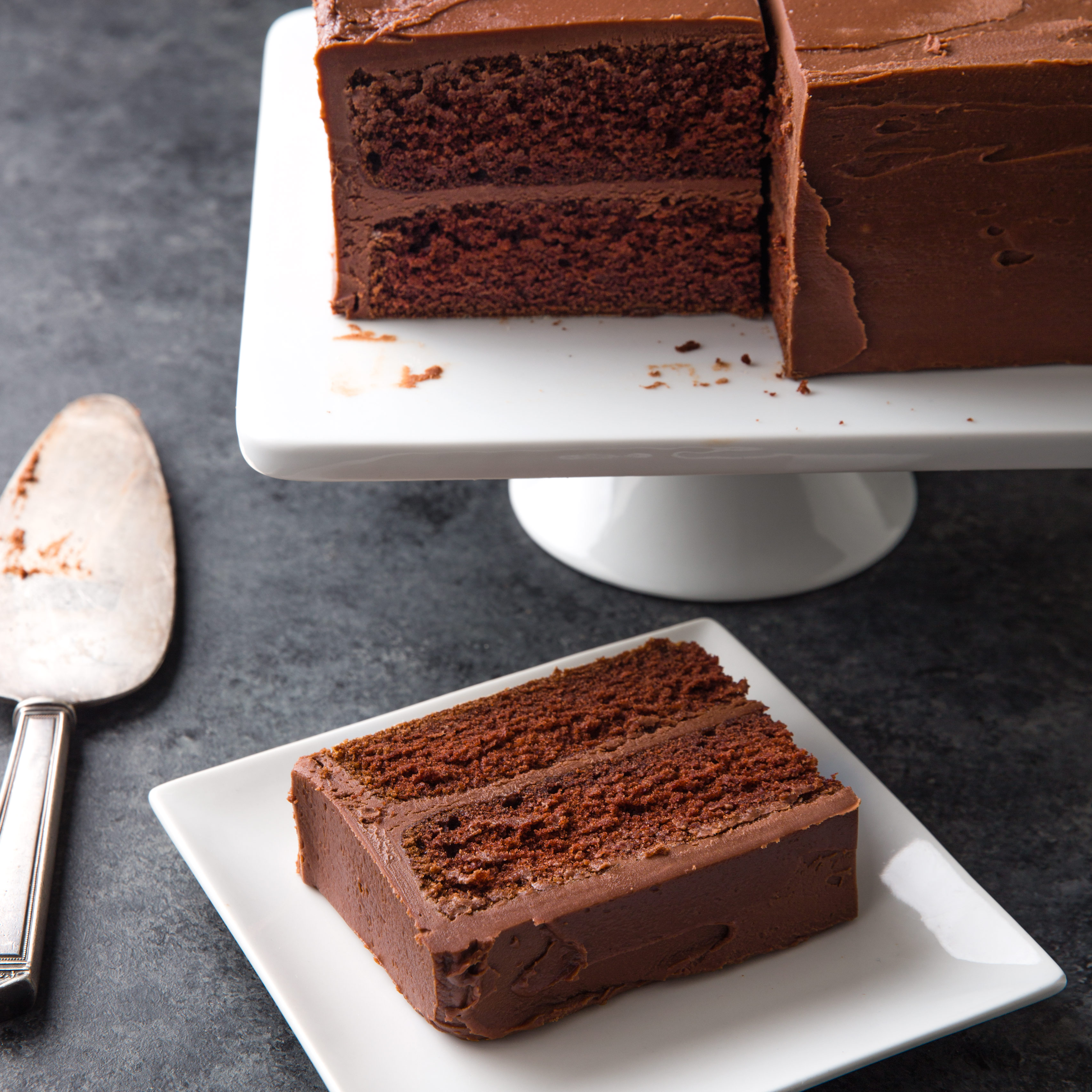 A 20th Century Chocolate Cake
