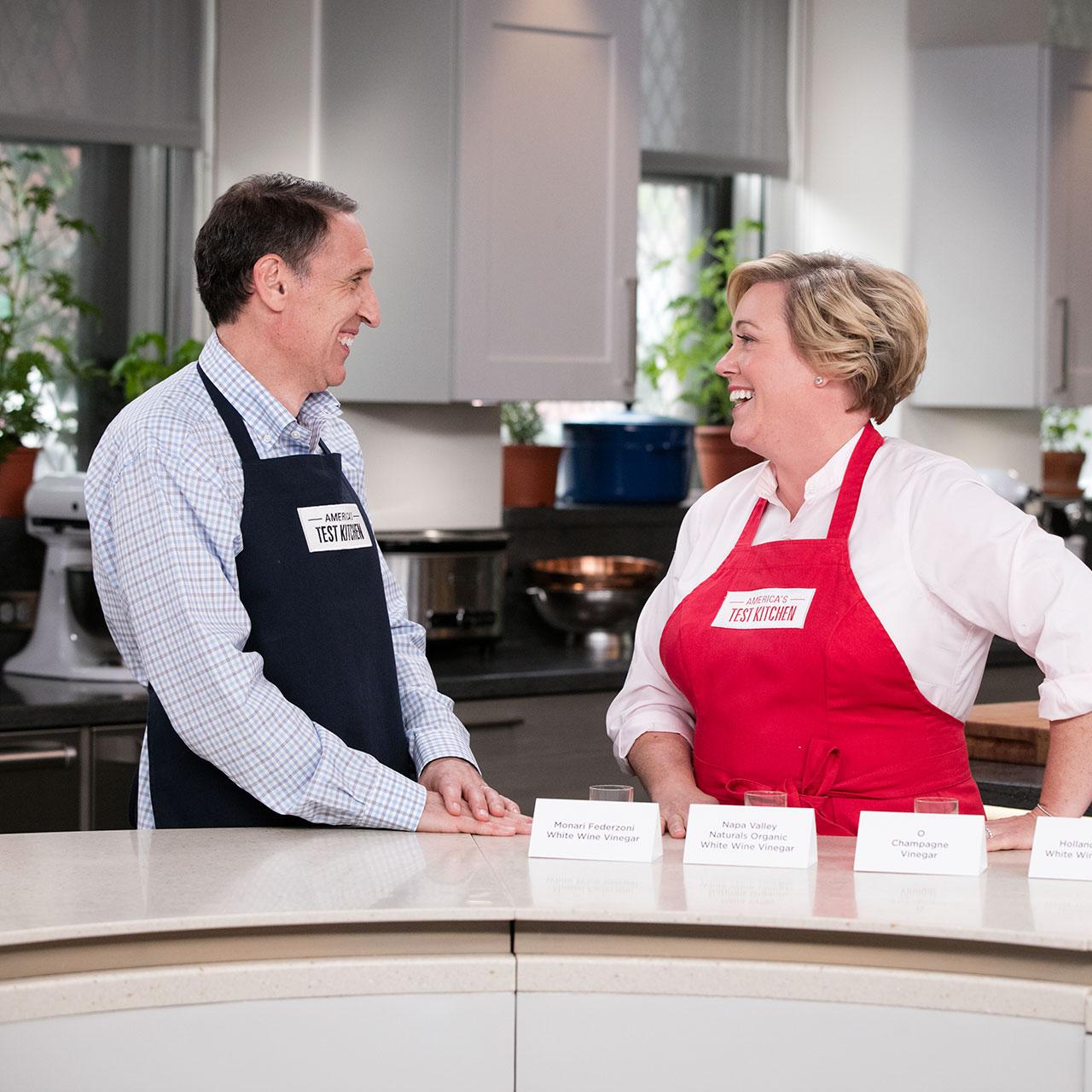 Pan Seared Thick Cut Boneless Pork Chops America S Test Kitchen