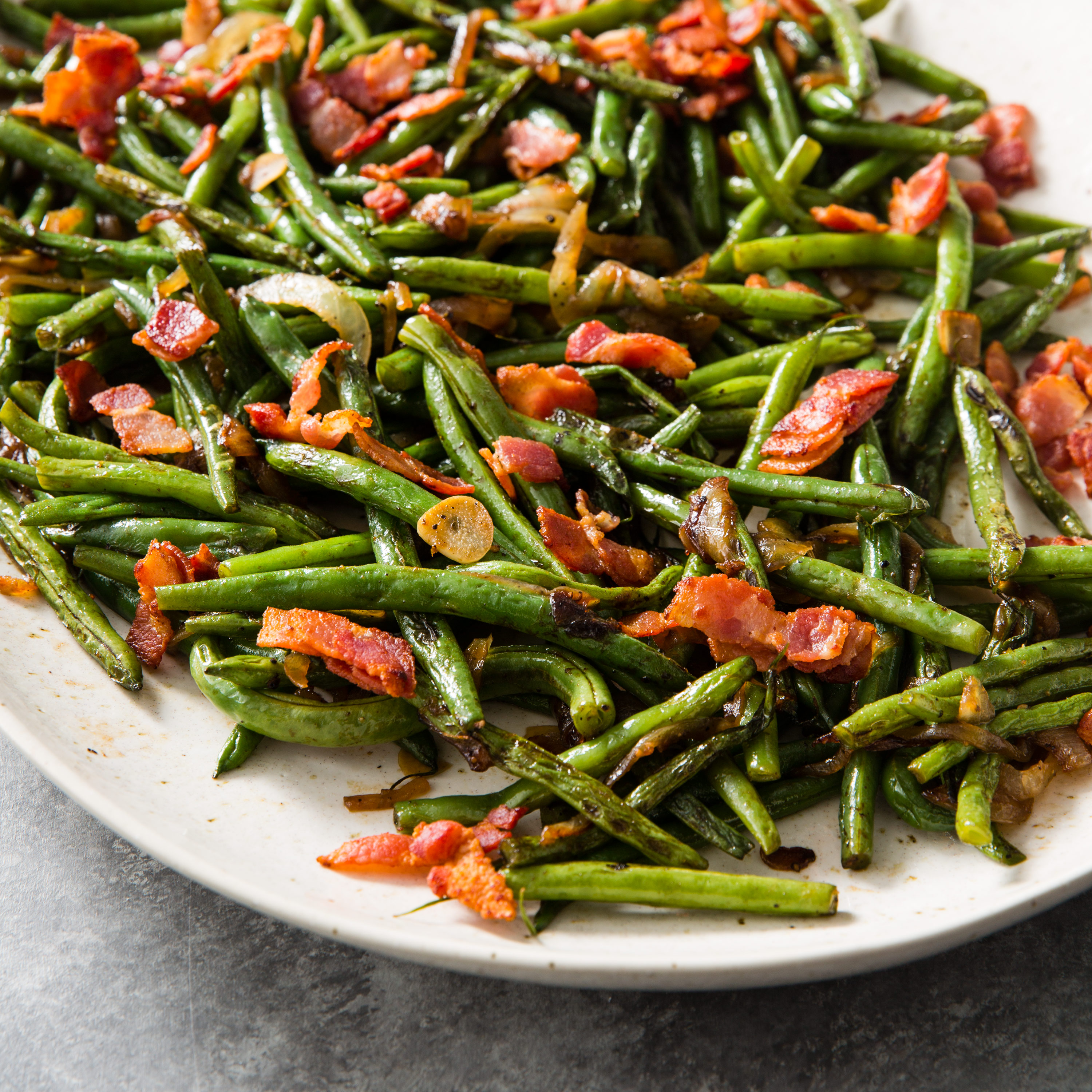 Green Beans With Bacon And Onion Cook S Country