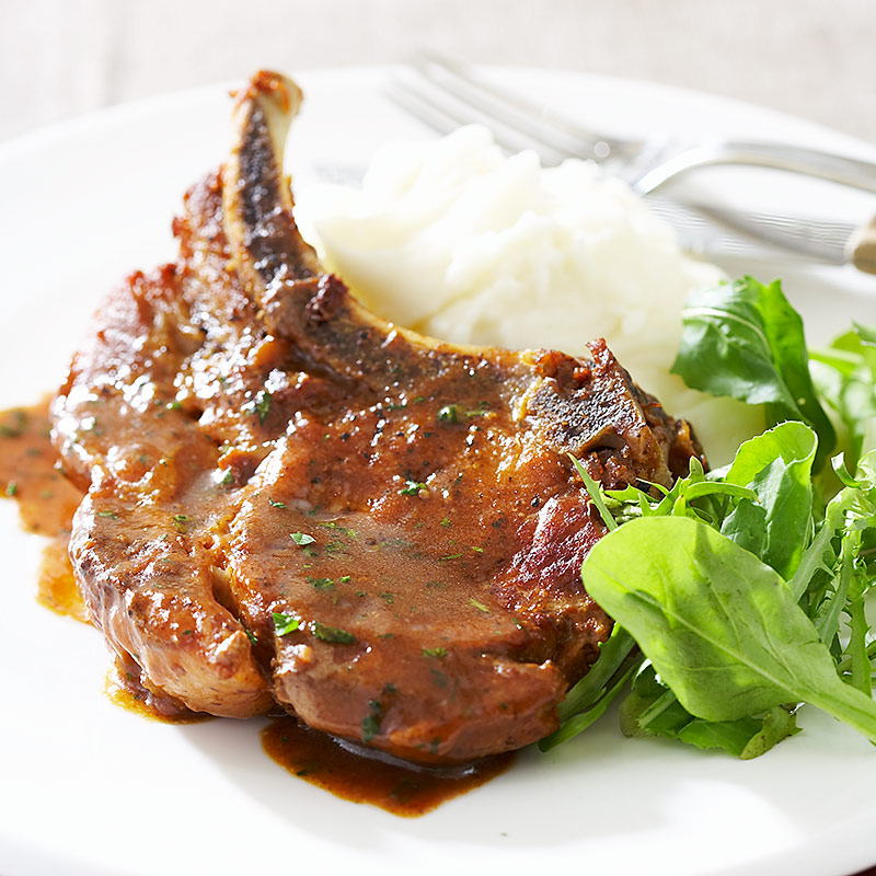 Cider Braised Pork Chops Cook S Country