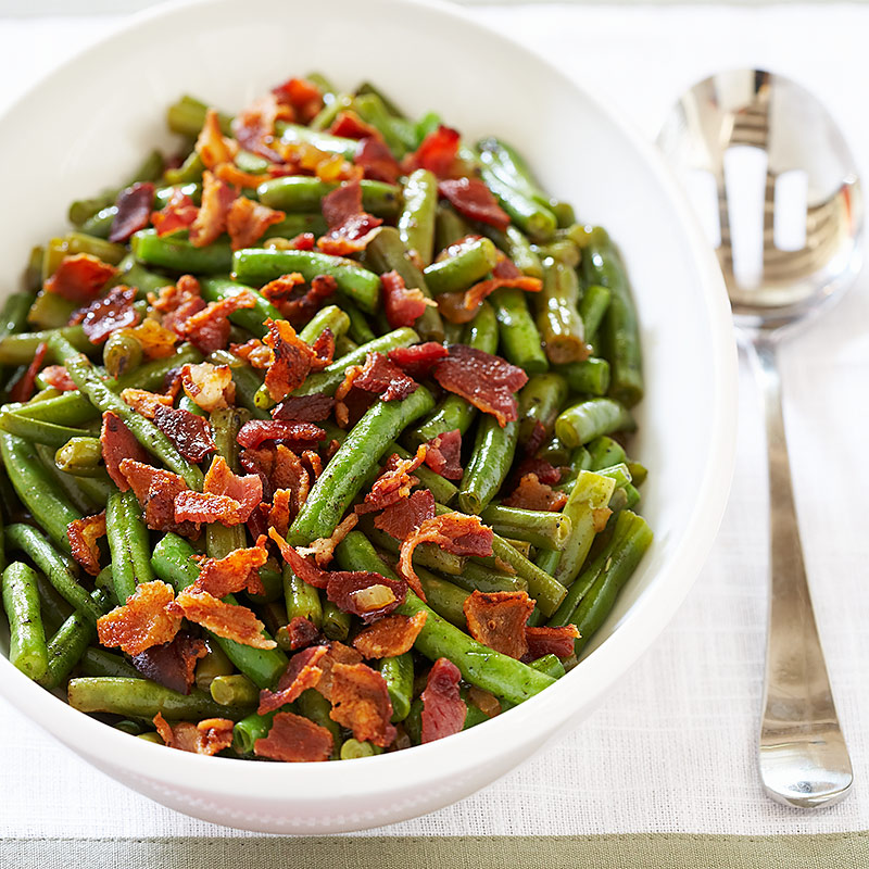 Bacon Braised Green Beans Cook S Country