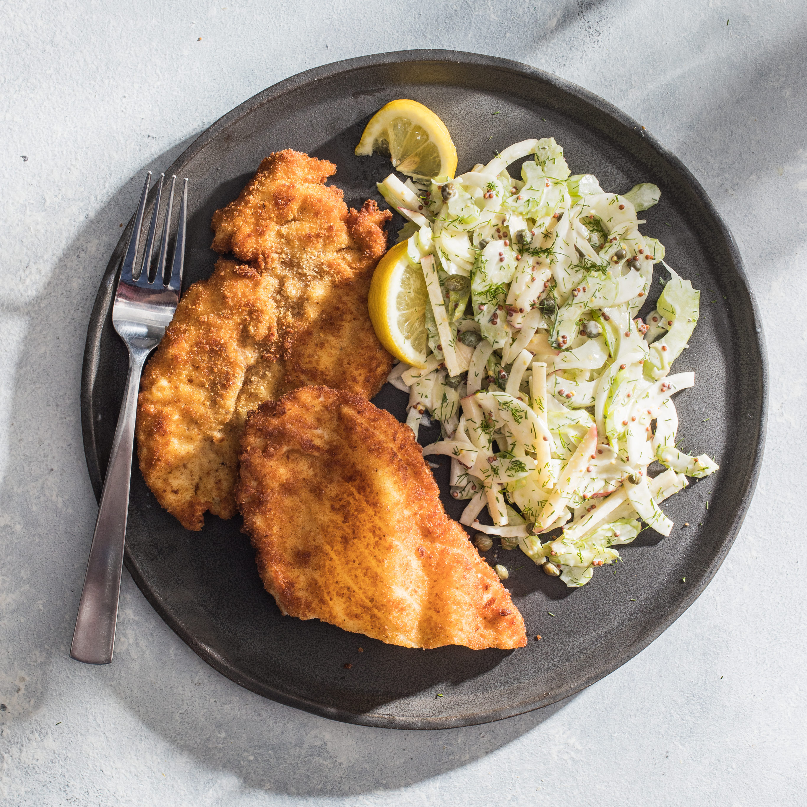 Chicken Schnitzel For Two Cook S Illustrated