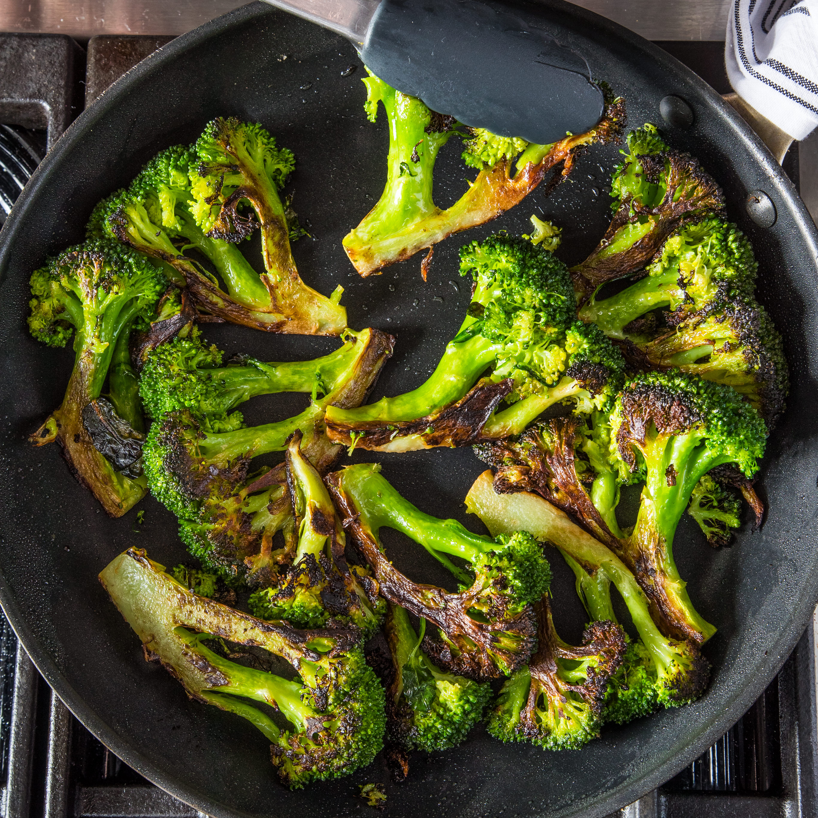 Skillet Roasted Broccoli Cook S Illustrated