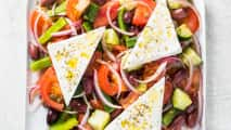Horiatiki Salata (Hearty Greek Salad)
