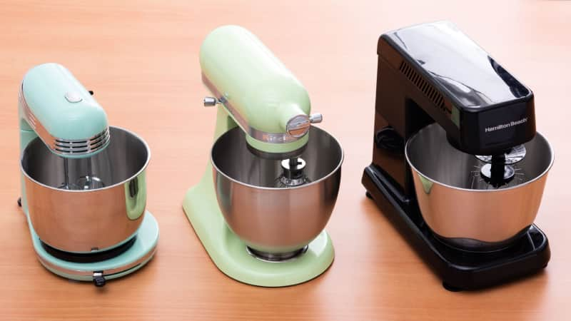 The Best Small Stand Mixers America S Test Kitchen