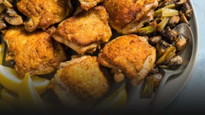 30 Minute Recipe Roasted Chicken Thighs | Cook's Country