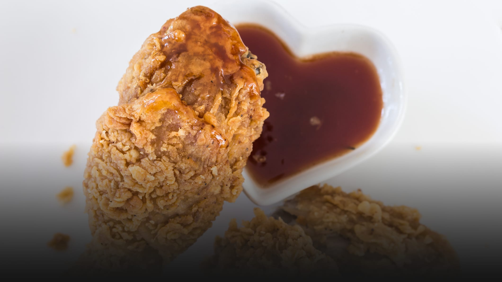 Want to elevate your fried chicken? Dip it in hot honey.