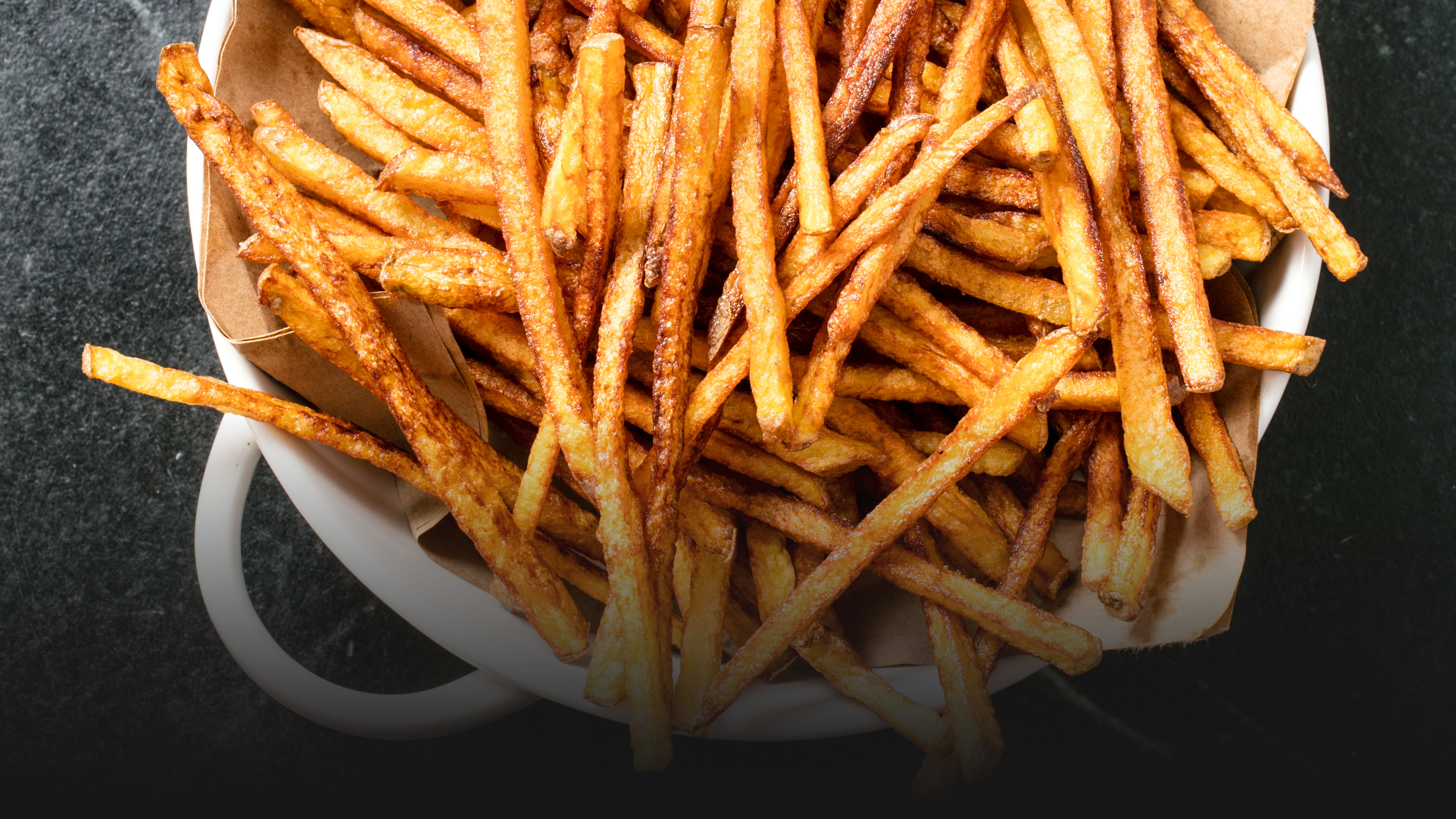 For Restaurant-Quality French Fries, Start with Cold Oil