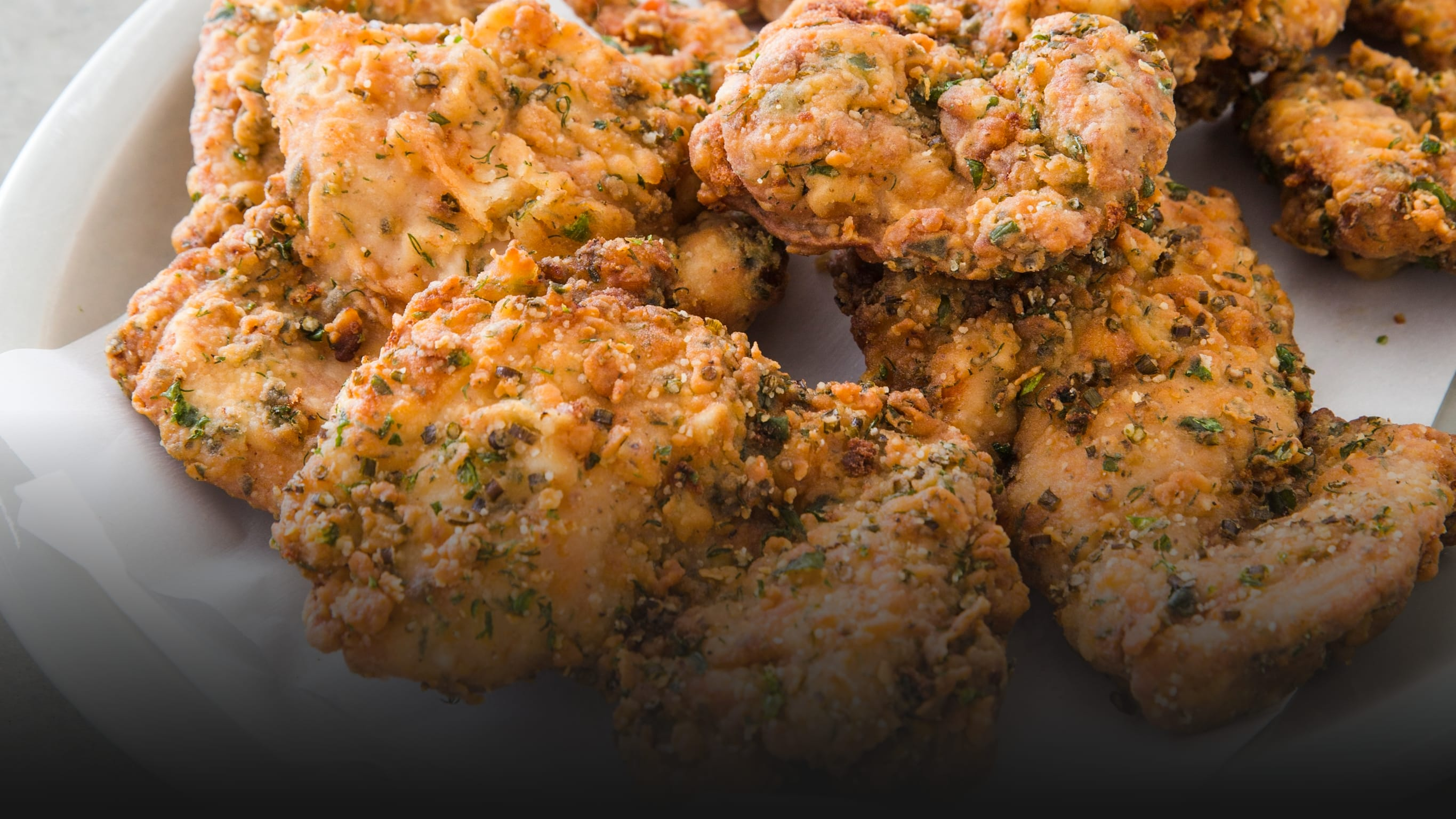 Fried Chicken Is Better with Ranch Seasonings in the Batter