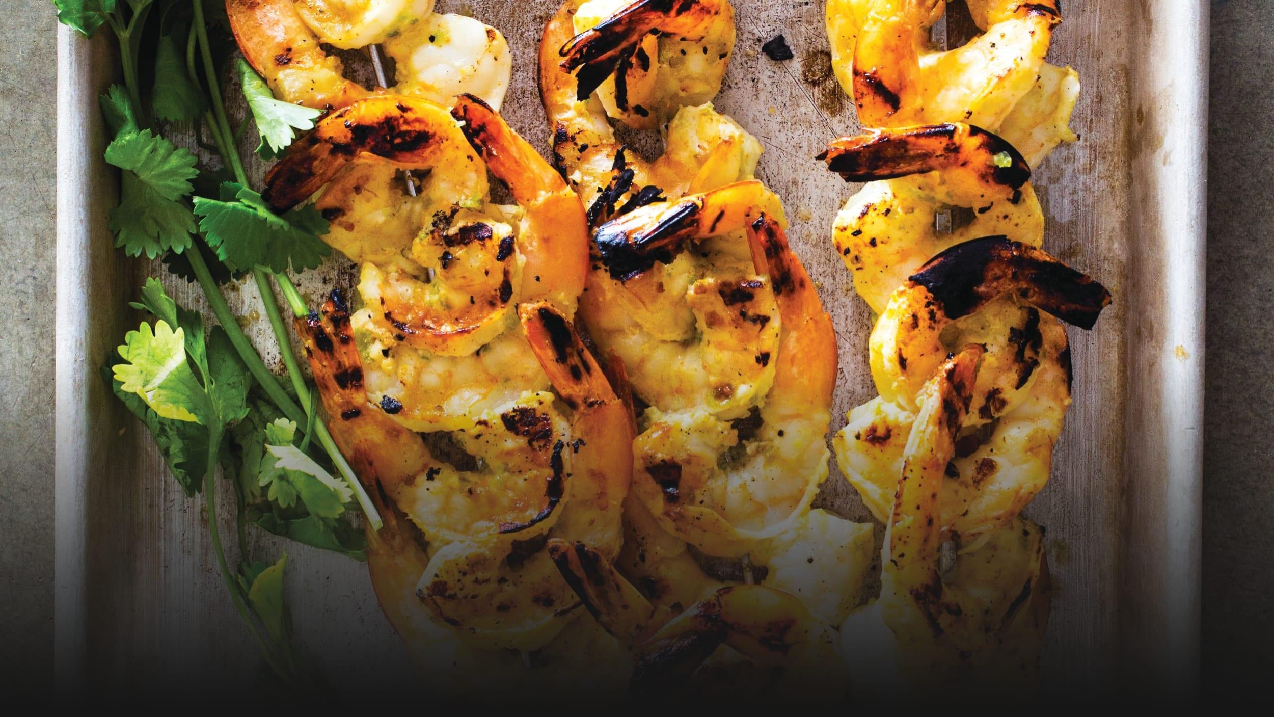Your Grilled Shrimp Should Be Spooning