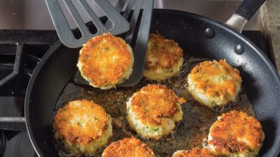 New England Cod And Potato Cakes
