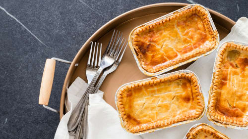 Individual Chicken Pot Pies For The Freezer The Complete Make