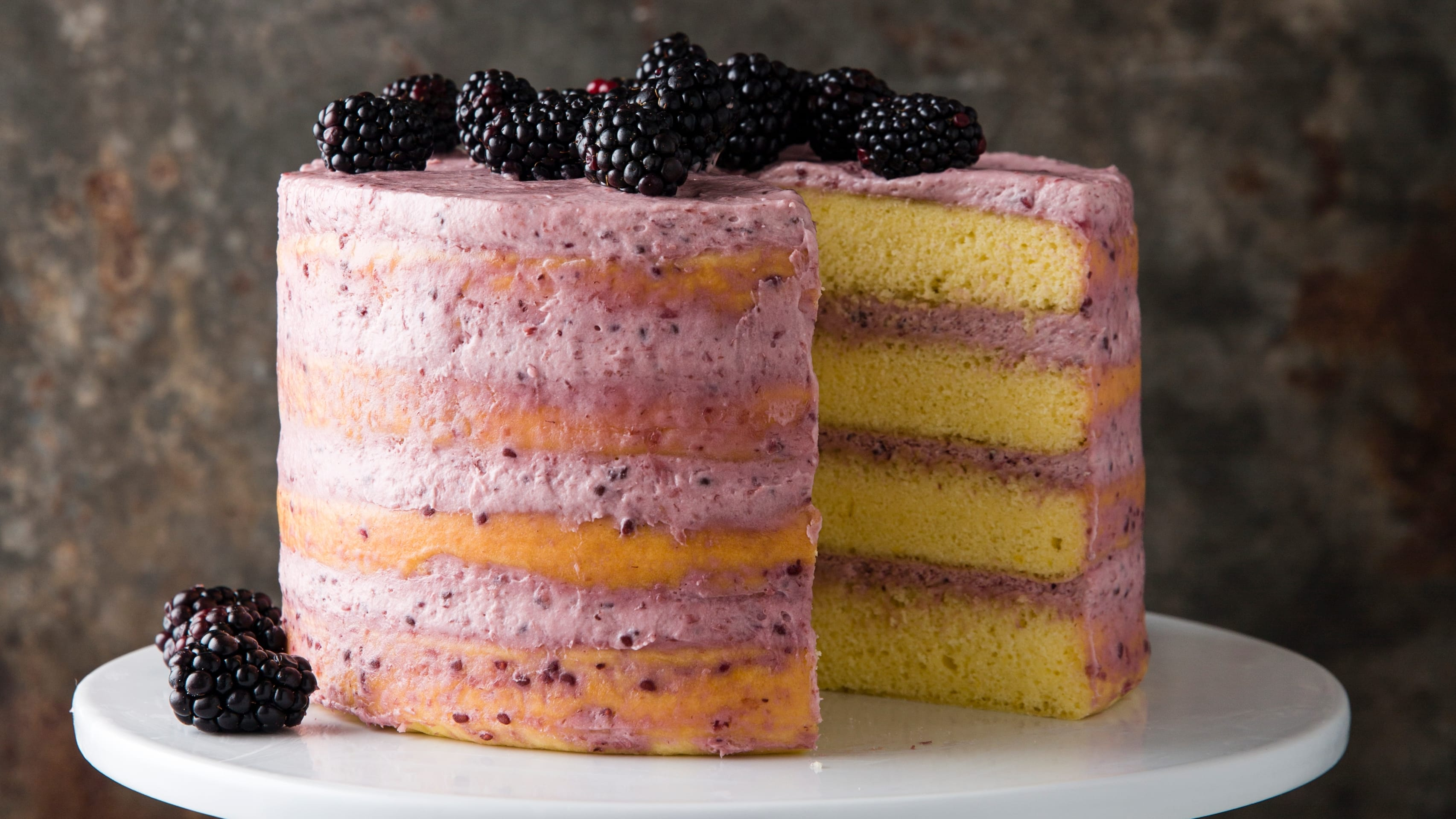 Blackberry-Mascarpone Lemon Cake | The Perfect Cake