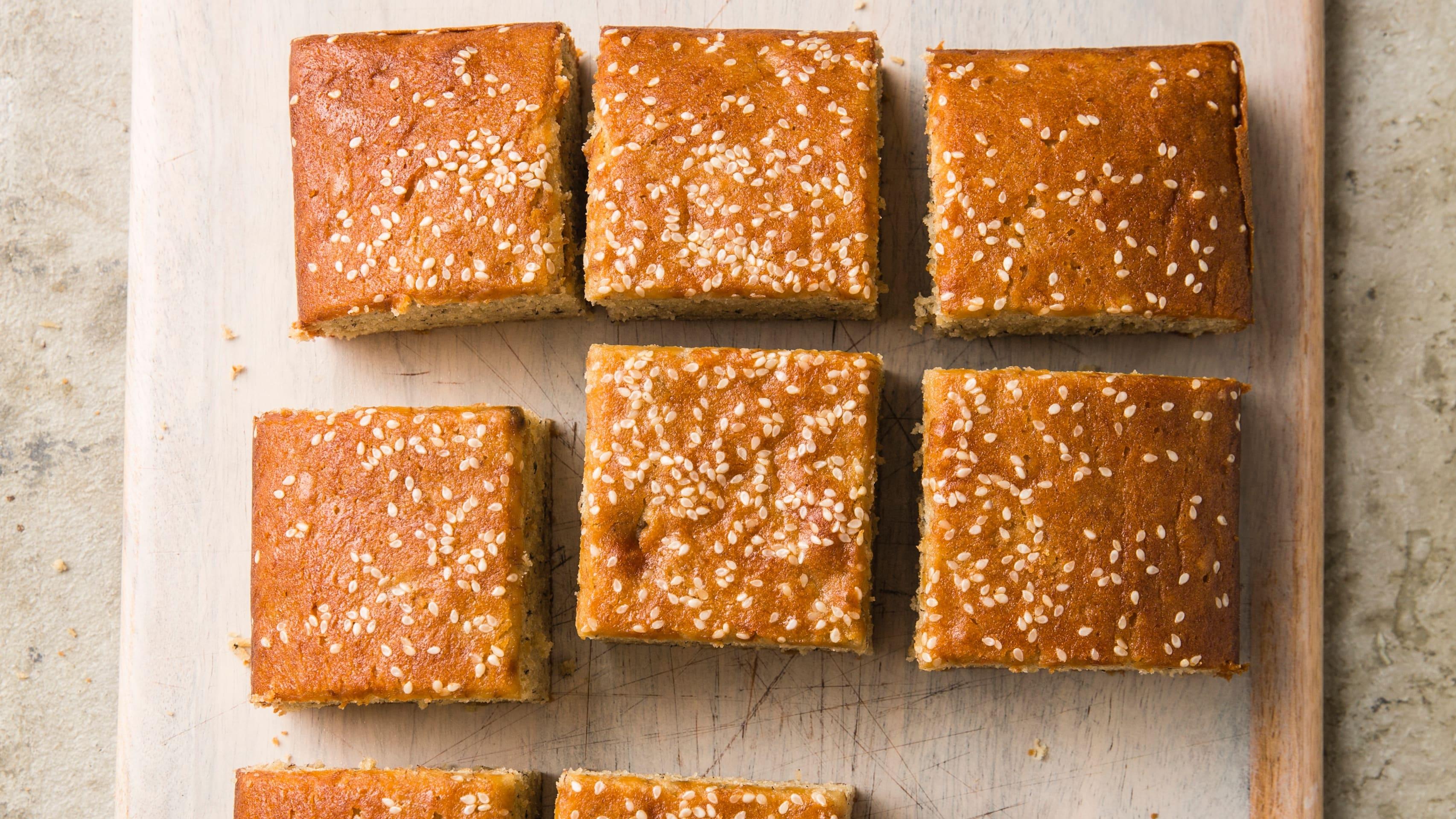 Tahini-Banana Snack Cake | The Perfect Cake