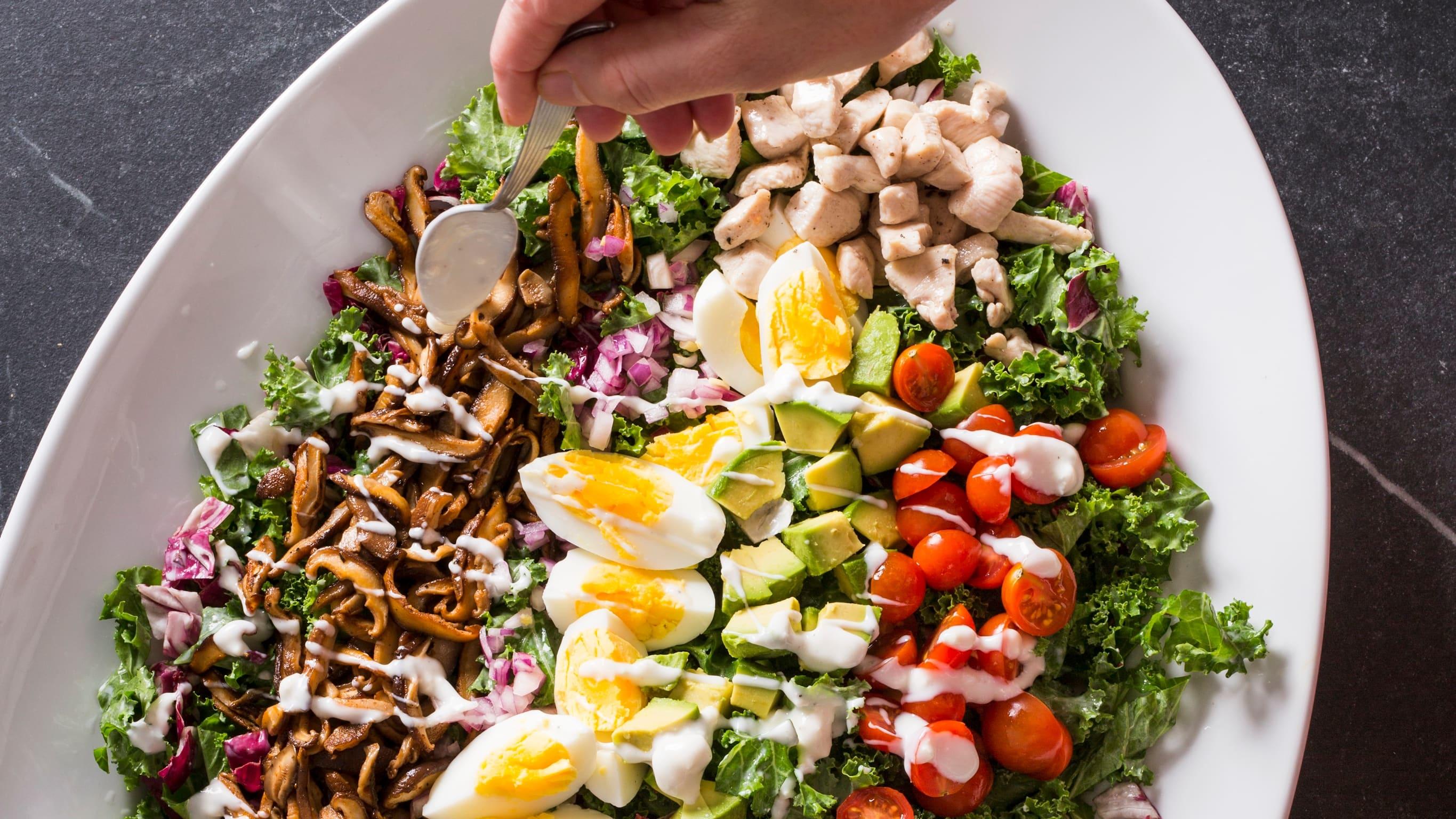 Super Cobb Salad | Nutritious Delicious