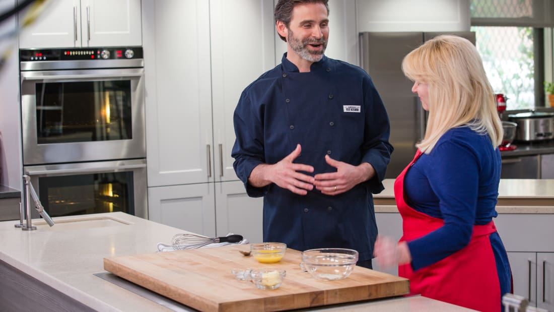 The Kitchen Show Cast an interview with cook's illustrated executive food editor keith