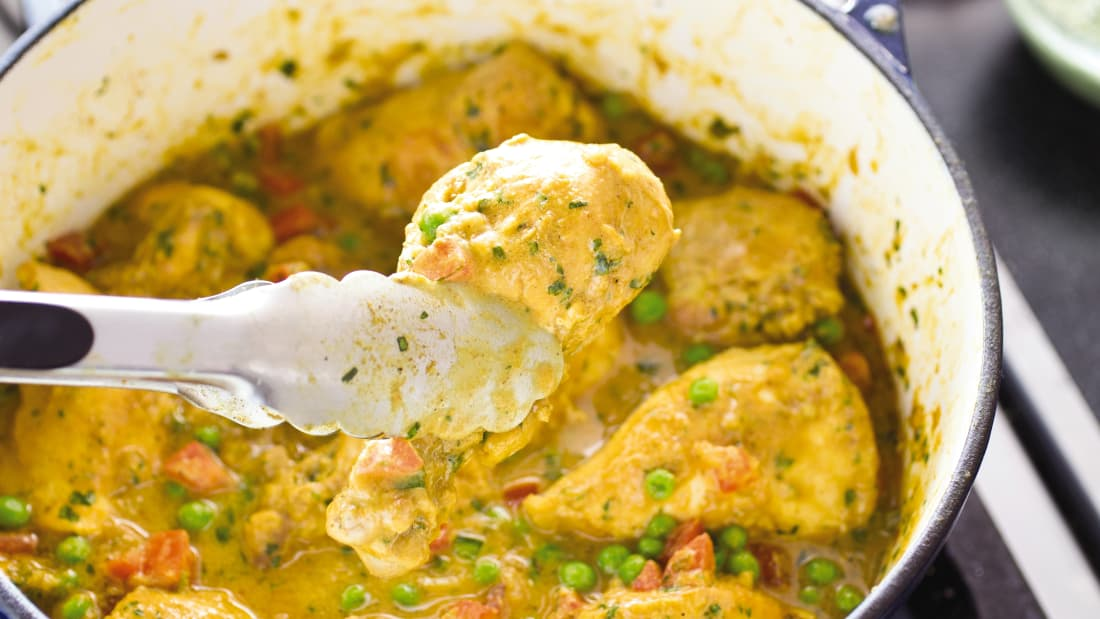 6 rules to follow when cooking with a dutch oven our recipe for indian style chicken curry instructs the home cook to bloom spices until fragrant about 30 seconds forumfinder Choice Image
