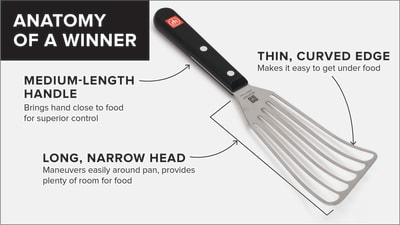 Why We Love The Wusthof Gourmet 12 Fish Spatula Cook S Country