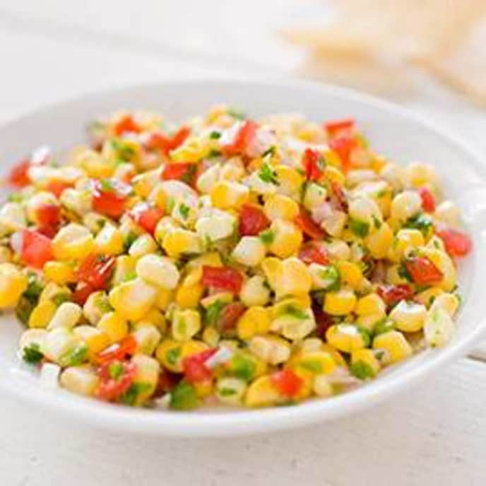 Fresh Corn Salsa with Tomato