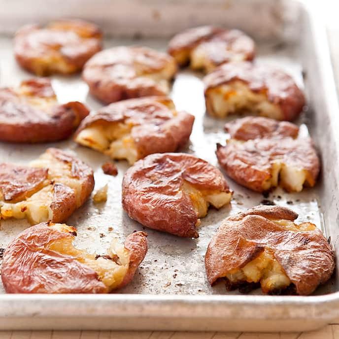 Roasted Salt-and-Vinegar Potatoes