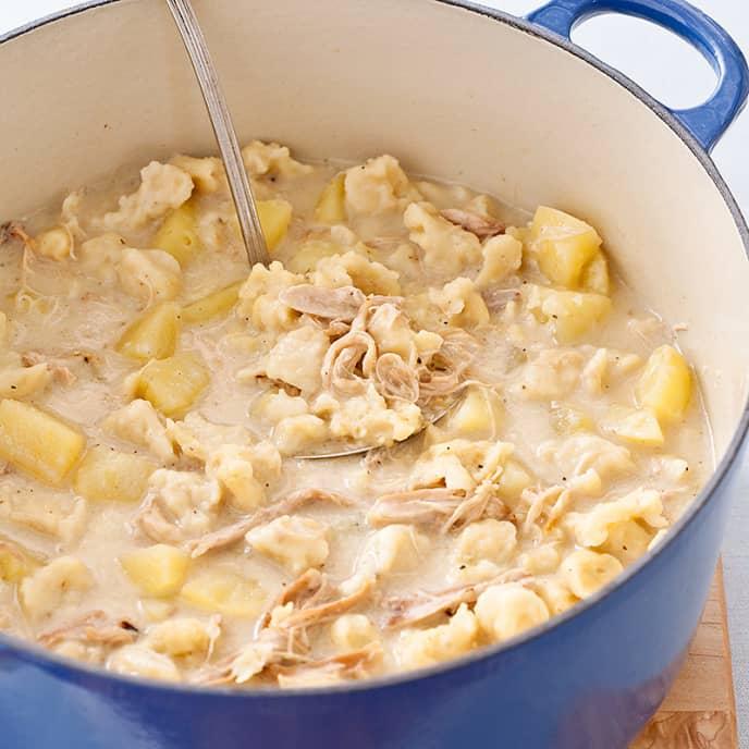 Knoephla (Dakota Chicken-and-Dumpling) Soup